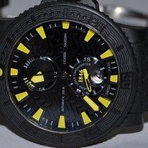 Ulysse Nardin Diver Black Sea pre-owned 46mm Black Date Rubber