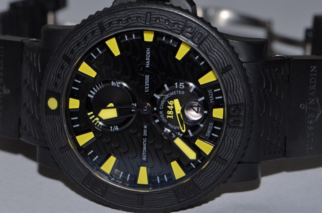 Ulysse Nardin Diver Black Sea 263-92-3C/924 pre-owned