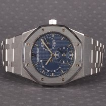 Audemars Piguet 25730ST Stahl Royal Oak Dual Time 36mm