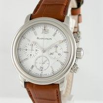 Blancpain Chronograph 38mm Automatic 1997 pre-owned Léman Ultra Slim White