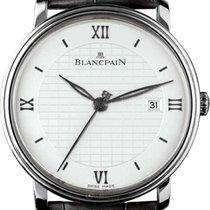 Blancpain Steel Automatic Silver Roman numerals 40mm new Villeret Ultra-Slim