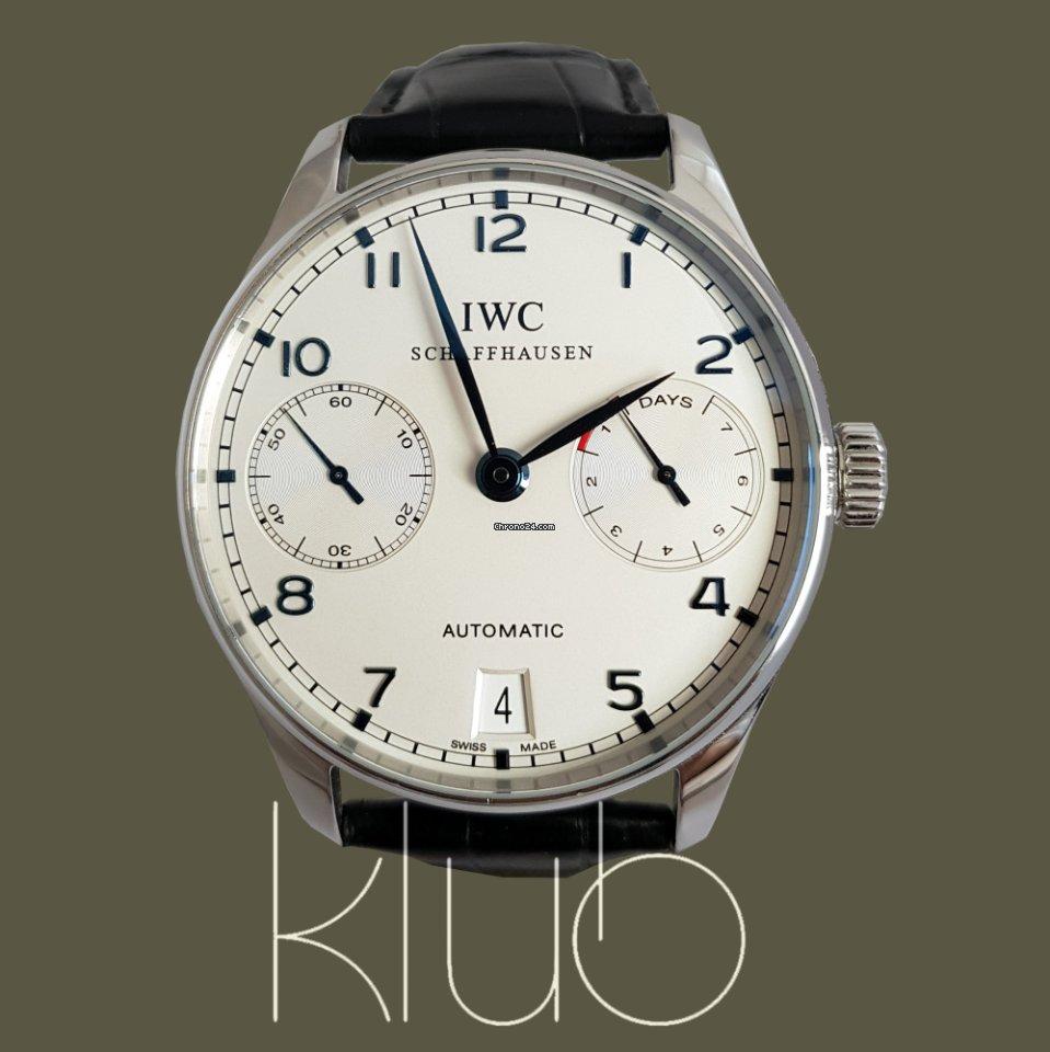 b026100b59f IWC Portuguese - Todos os preços de relógios IWC Portuguese na Chrono24