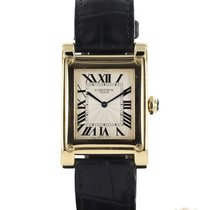 Cartier Tank (submodel) Yellow gold 27mm White