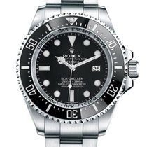 Rolex Sea-Dweller Deepsea Steel 44mm Black No numerals United States of America, California, Los Angeles