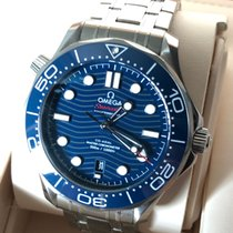 Omega Seamaster Diver 300 M Steel 42mm Blue No numerals