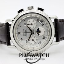 Zenith El Primero Chronomaster pre-owned 40mm Moon phase Chronograph Date Weekday Month Tachymeter Leather