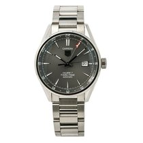TAG Heuer Carrera Calibre 7 Steel 40mm Grey No numerals United States of America, New York, New York