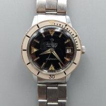 Zodiac Stål 35mm Automatisk Zodiac Sea Wolf 722-946 1750B brukt