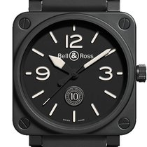 Bell & Ross BR 01-92 Ceramic 46mm Black Arabic numerals United States of America, New Jersey, Princeton