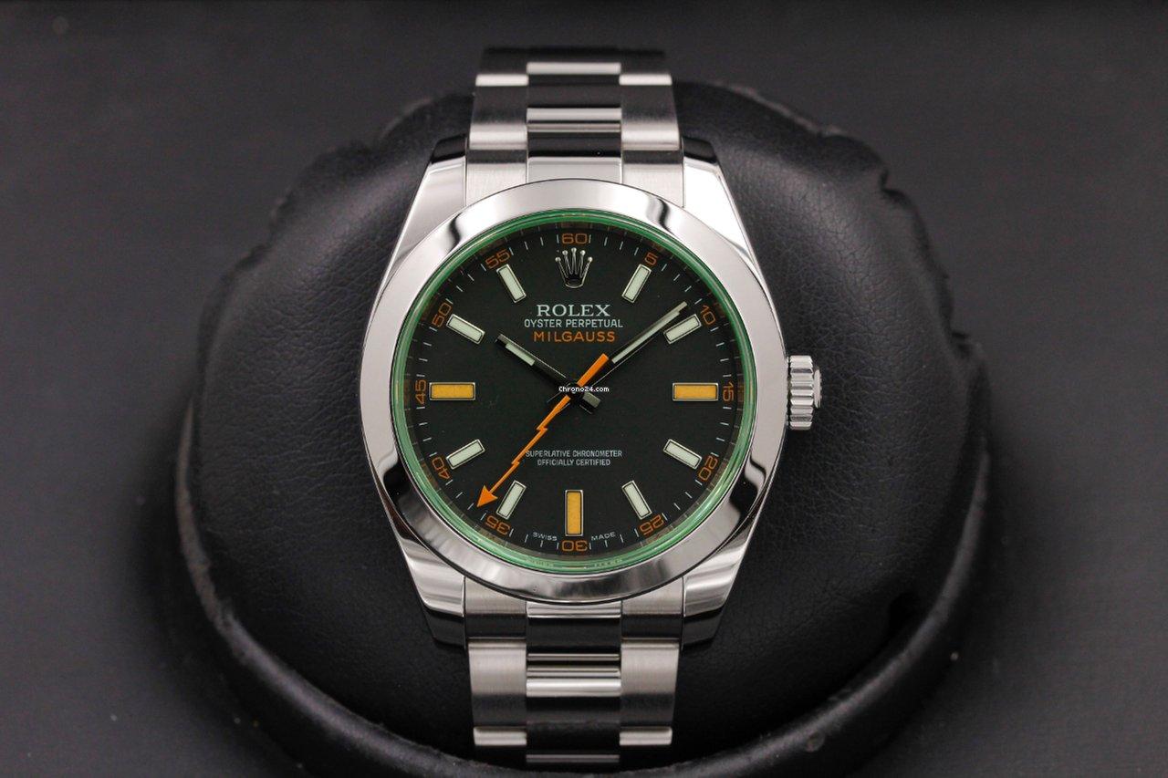 Rolex Milgauss 116400 Stainless Steel