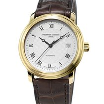 Frederique Constant Classics Automatic Guld/Stål 40mm Sølv Romertal