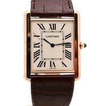 Cartier Tank Louis Cartier Rose gold 40,40mm White Roman numerals