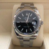 Rolex Datejust II Stahl 41mm Schwarz