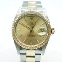 Rolex Oyster Perpetual Date Gold/Steel 34mm Champagne No numerals United States of America, Florida, Miami