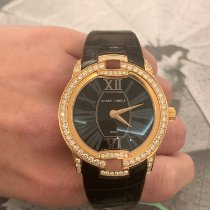 Roger Dubuis new Automatic Display Back Gemstone Genevian Seal 36mm Rose gold