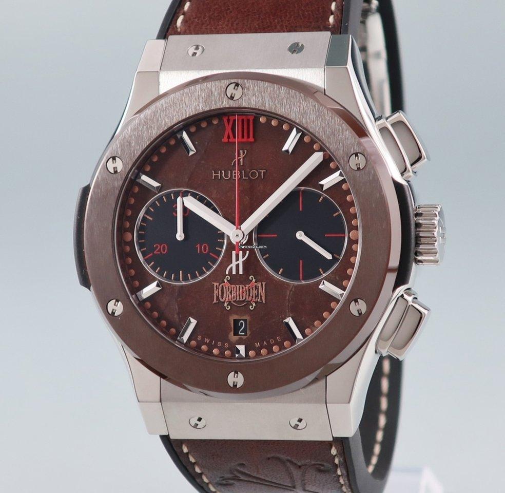 san francisco d6632 30fa2 Hublot ウブロ HUBLOT/クラシック フュージョン フォービデンX クロノ 521.NC.0589.VR.OPX14 自動巻 新同品  世界限定250本 アルトゥーロフエンテ社コラボモデル 腕時計 メンズ