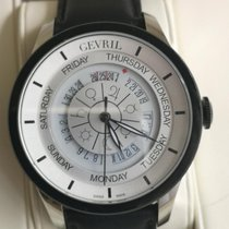 Gevril pre-owned Automatic 45mm White Sapphire Glass 5 ATM