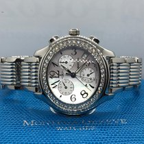 Montega Steel 40mm Quartz pre-owned