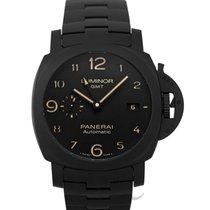 Panerai Luminor 1950 3 Days GMT Automatic neu Automatik Uhr mit Original-Box und Original-Papieren PAM01438
