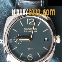 Panerai Radiomir 3 Days GMT Oro rojo 42mm Marrón Árabes