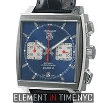 TAG Heuer Monaco Calibre 12 Steel 39mm Blue United States of America, New York, New York