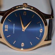 Chopard Rose gold Automatic Blue Arabic numerals 40mm pre-owned L.U.C