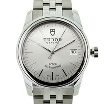 Tudor Glamour Date Steel 36mm Silver