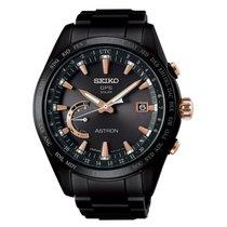 Seiko Astron Solar GPS Black PVD Titanium Men's Watch SSE113