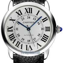 Cartier Steel Automatic Silver 42mm new Ronde Croisière de Cartier