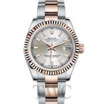 Rolex Lady-Datejust Ruzicasto zlato 31mm Srebro