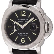 Panerai : Luminor Marina :  PAM 104 :  Stainless Steel...