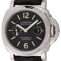Panerai : Luminor Marina :  PAM 104 :  Stainless Steel...