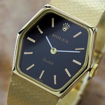 Rolex Vintage Rolex Orchid 18k Manual Original Swiss Lady'...