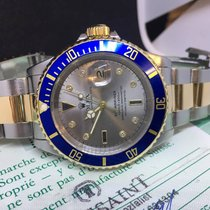 Rolex Submariner 16613 - Sultan Dial Diamonds - FULL SET  - 1991