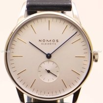 NOMOS Orion 38 new 2019 Manual winding Watch with original box and original papers 384