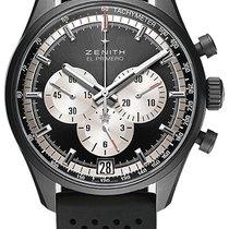 Zenith El Primero Chronomaster Aluminum 42mm Black