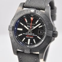 Breitling Avenger II GMT Black PVD Steel 43mm M3239010/BF04...