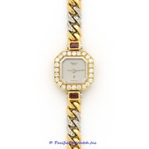 Chopard Yellow gold Quartz Silver 16mm pre-owned Classic