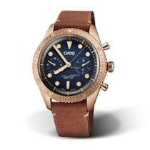 Oris Men's  01 771 7744 3185-Set LS Carl Brashear Limited