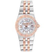 Breitling Galactic 30 Gold/Steel 30mm Mother of pearl Roman numerals United States of America, Georgia, Atlanta