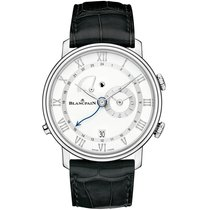 Blancpain Villeret new 2019 Automatic Watch with original box and original papers 6640-1127-55B