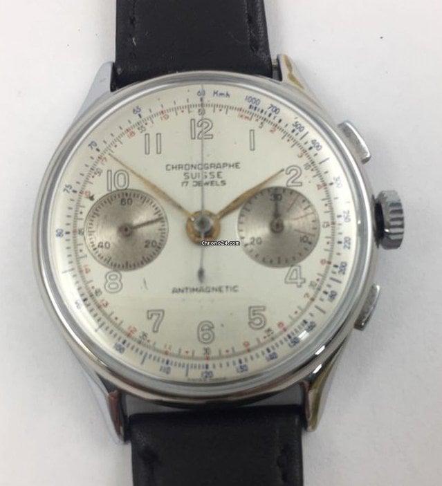 Chronographe Suisse Cie vintage 1950 二手