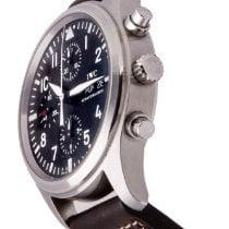 IWC Pilot Chronograph Steel 42mm Black Arabic numerals Singapore, Singapore