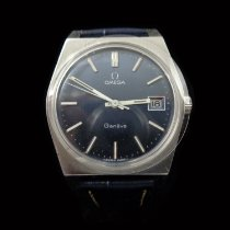 Omega Steel Manual winding 35mm pre-owned Genève