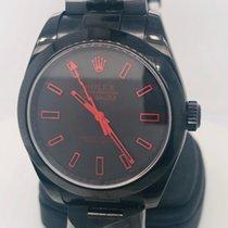Rolex Milgauss новые 2010 Автоподзавод Часы с оригинальной коробкой 116400