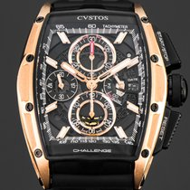 Cvstos Red gold Automatic Black 53,70mm new Challenge