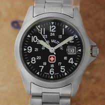 Swiss Military 30mm Quartz 2000 pre-owned Black