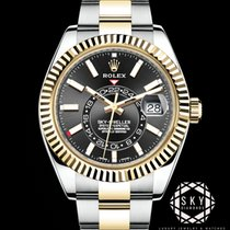 Rolex Sky-Dweller 326933 New Gold/Steel 42mm Automatic