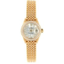 Rolex Lady-Datejust Yellow gold 26mm No numerals United States of America, California, Redwood City