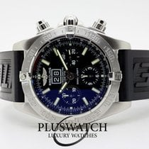 Breitling A44359 Steel Blackbird 44mm pre-owned